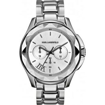 Karl Lagerfeld | Armbanduhr Karl Lagerfeld | Herrenuhr Karl Lagerfeld | graue Herrenuhr | silber herrenuhr