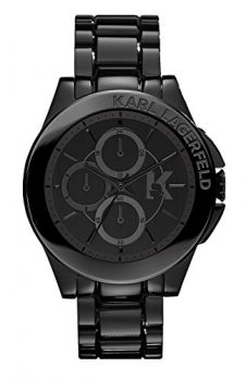 Karl Lagerfeld | Armbanduhr Karl Lagerfeld | Herrenuhr Karl Lagerfeld | schwarze Herrenuhr