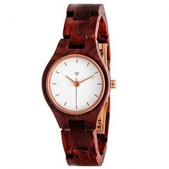 Analoge Amrbanduhr Holz | Armbanduhr aus holz