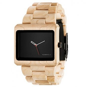 Holzarmbanduhr  | Kerbholz Uhr | ArmbanduhrKerbholz  | Herrenuhr Kerbholz  |