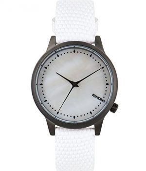 Komono Uhr   Armbanduhr Komono   Damenuhr Komono   weiße Damenuhr