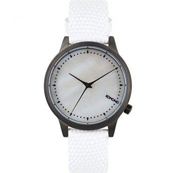 Komono Uhr | Armbanduhr Komono | Damenuhr Komono | weiße Damenuhr
