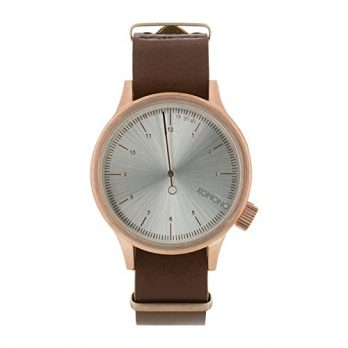 Komono Uhr | Armbanduhr Komono | Herrenuhr Komono | braune herrenuhr
