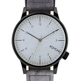 Komono Uhr   Armbanduhr Komono   Damenuhr Komono   graue herrenarmbanduhr
