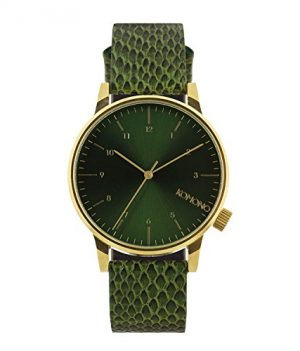 Komono Uhr   Armbanduhr Komono   Herrenuhr Komono   grüne Herrenuhr   grüne armbanduhr