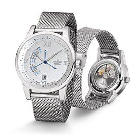 Uhren mit Milanaiseband | silberne Armbanduhr Uhren mit Milanaiseband