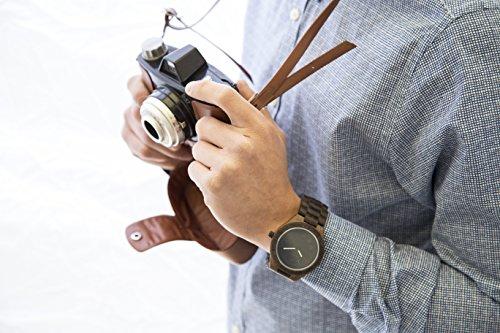 laimer holzuhr black edition herren armbanduhr aus 100 sandelholz f r einzigartigen. Black Bedroom Furniture Sets. Home Design Ideas