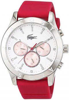 Lacoste Uhr | Armbanduhr Lacoste| Damenuhr Lacoste | rote damenuhr | damenarmbanduhr mit silikonband