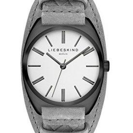 Liebeskind Uhr | Armbanduhr Liebeskind | Damenuhr Liebeskind | graue damenuhr | lederarmbanduhr grau