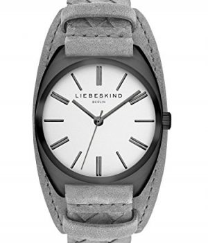 Liebeskind Uhr   Armbanduhr Liebeskind   Damenuhr Liebeskind   graue damenuhr   lederarmbanduhr grau