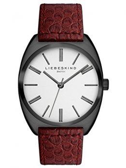 Liebeskind Uhr | Armbanduhr Liebeskind | Damenuhr Liebeskind | rote damenuhr | Lederarmbanduhr rot