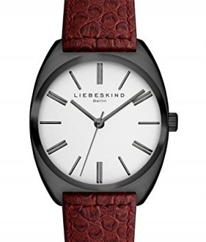 Liebeskind Uhr   Armbanduhr Liebeskind   Damenuhr Liebeskind   rote damenuhr   Lederarmbanduhr rot