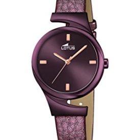 Lotus Uhr   Armbanduhr Lotus   Damenuhr Lotus   lila Damenuhr   Armbanduhr lila