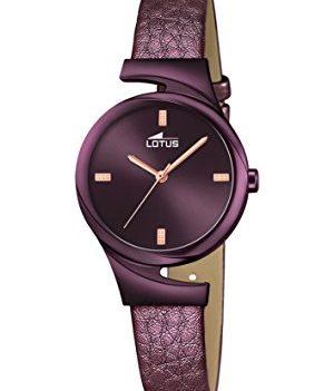 Lotus Uhr | Armbanduhr Lotus | Damenuhr Lotus | lila Damenuhr | Armbanduhr lila