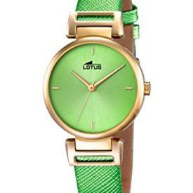 Lotus Uhr   Armbanduhr Lotus   Damenuhr Lotus   grüne Damenuhr   Armbanduhr grün   auffällige armbanduhr