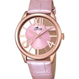 Lotus Uhr   Armbanduhr Lotus   Damenuhr Lotus   rosa damenuhr   armbanduhr rosa