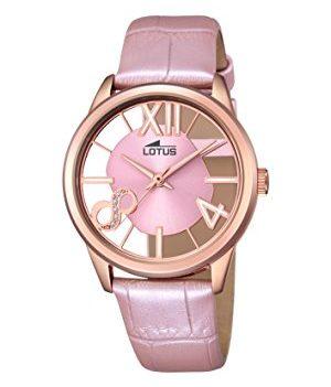 Lotus Uhr | Armbanduhr Lotus | Damenuhr Lotus | rosa damenuhr | armbanduhr rosa