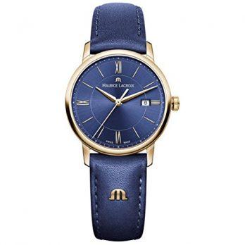 Maurice Lacroix Uhr | Armbanduhr Maurice Lacroix | Damenuhr Maurice Lacroix  | dunkelblaue damenuhr