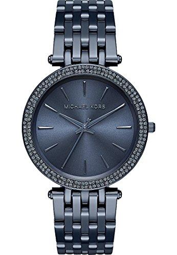 michael kors damen armbanduhr analog quarz one size blau. Black Bedroom Furniture Sets. Home Design Ideas