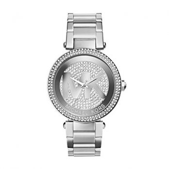 Michael Kors Uhr | Armbanduhr Michael Kors | Damenuhr Michael Kors | edelstahö armbanduhr damen | damenuhr mit silbernem ziffernblatt