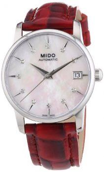 Mido Uhr | Armbanduhr Mido | Damenuhr Mido | rote damenuhr