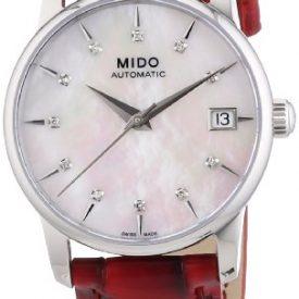 Mido Uhr | ArmbanduhrMido | Damenuhr Mido | rote damenuhr