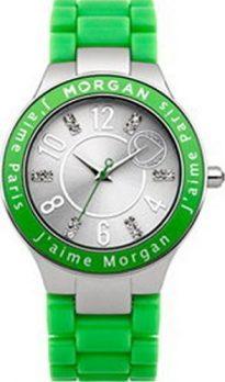 Morgan Uhr | Armbanduhr Morgan | Damenuhr Morgan | grüne armbanduhr damen| grüne armbanduhr | grüne armbanduhr mit silbernen ziffernblatt