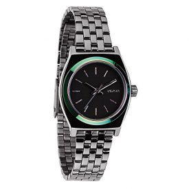 Nixon Uhr   Armbanduhr Nixon   Damenuhr Nixon   armbanduhr mit schmalem gliederarmband   schmale armbanduhr