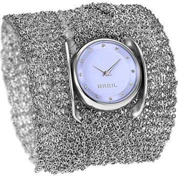 Breil armbanduhr | damenuhr mit breitem Armband