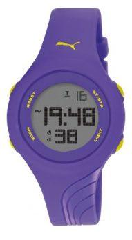 Armbadnuhr Digital | digitale Armbanduhr | kunststoff Armbanduhr | lila Armbanduhr