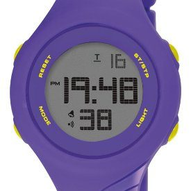 Armbadnuhr Digital   digitale Armbanduhr   kunststoff Armbanduhr   lila Armbanduhr