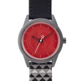 solaruhr   rote armbanduhr