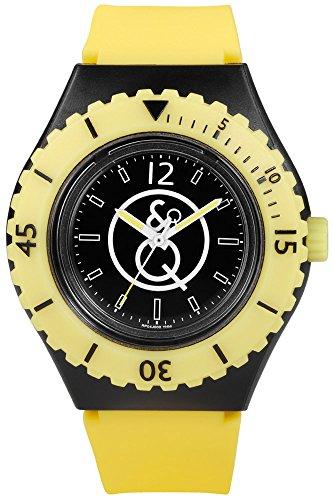 Quest & Quality Uhr | Armbanduhr Quest & Quality | Gelbe armbanduhr