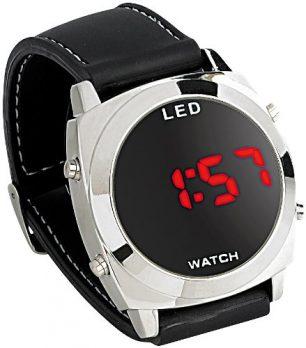 Armbanduhr digital | digitale armbanduhr mit led