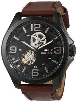 Automaikuhr Armabduhr | Automatische Armbanduhr | Leder Armbanduhr