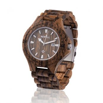 holzuhr   armbanduhr holz zebraholz