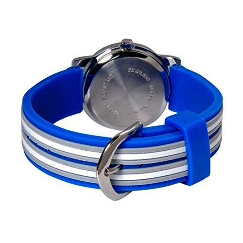 14c0060601 ... Jungen Armband Uhr Fußball Kinder Armbanduhr Blau Sportuhr Lernuhr  KW002. Angebot! Previous. Angebot ! Amazon Prime. Kostenloser Versand. Next