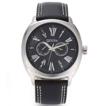 goonix Uhr  | herrenuhr gooix | schwarze herrenuhr