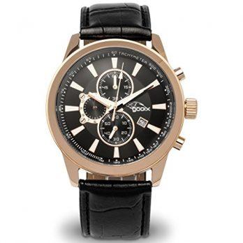 Gooix Uhr | herrenuhr gooix | herrenuhr schwarz | chronograph armbanduhr herren | schwarze armbanduhr herren