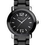 Armbanduhr Kermaik | Keramik Armbanduhr | Damen schwarze Armbanduhr