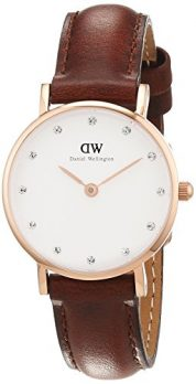 Daniel Wellington Uhr | Armbanduhr Daniel Wellington Uhr | Braune Leder Armbanduhr