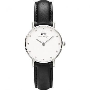 Daniel Wellington Uhr | Armbanduhr Daniel Wellington | Leder Armbanduhr schwarz
