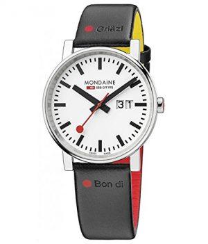 Mondaine Uhr   Armbanduhr Mondaine   Herrenuhr Mondaine