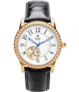 Royal London Uhr   Armbanduhr Royal London   Damenuhr Royal London   Automatikuhr Damen   schwarze automatikarmbanduhr damen