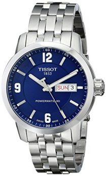 Tissot Uhr | Armbanduhr Tissot | Herrenuhr Tissot |  blaue herren armbanduhr | XL analog-automatik edelstahl armbanduhr
