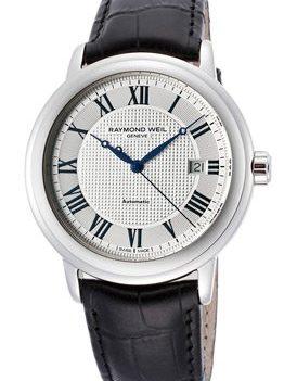 Raymond Weil Uhr | Armbanduhr Raymond Weil | Herrenuhr Raymond Weil | Herren Lederarmbanduhr