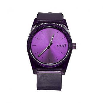 Neff Uhr | Armbanduhr Neff | Herrenuhr Neff | violette armbanduhr