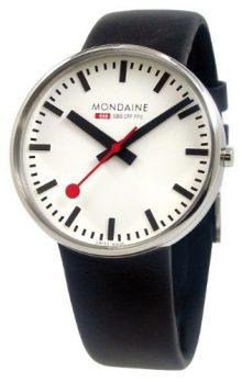 Mondaine Uhr | Armbanduhr Mondaine | Herrenuhr Mondaine | schwarze armbanduhr herren