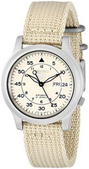 Seiko Uhr | Armbanduhr Seiko | Herrenuhr Seiko | beige armbanduhr herren