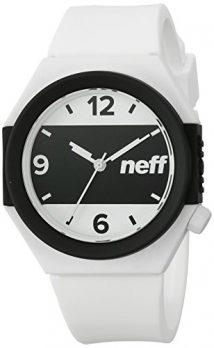 Neff Uhr | Armbanduhr Neff |  weiß-schwarze Armbanduhr